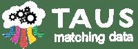 Matching Data white logo